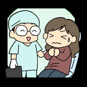 歯の詰め物を外す