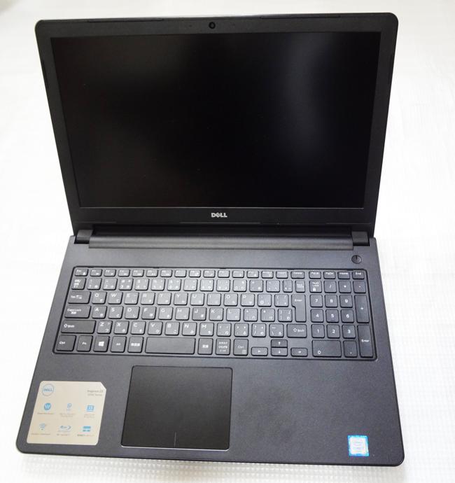 DellのノートパソコンInspiron15(17Q3HBB)