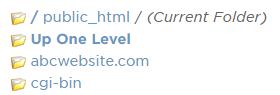 PHP を変更するためのドメインを選択