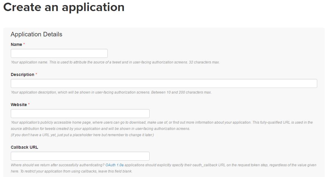Twitterのwordpressサイトの登録設定