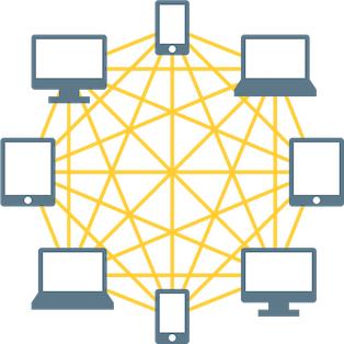 XCPトークンはビットコインのブロックチェーン機能を使用している