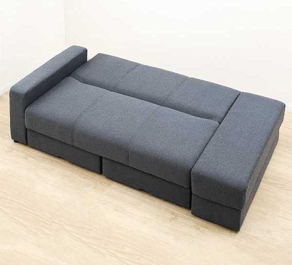 ニトリのソファベットは座れて寝れる設計