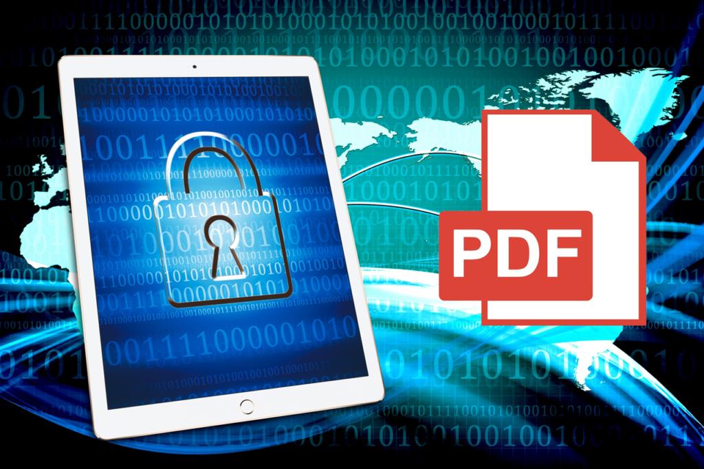 PDFのコピー防止や著作権保護の使い方や設定方法