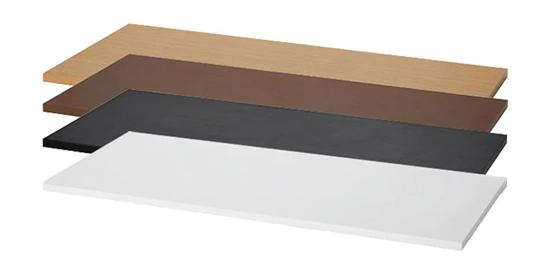 天板のカラータイプは4色