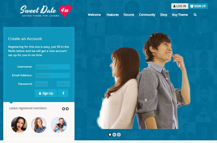 出会い系サイトや婚活サイトのサンプルサイト