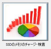 SSDのメモリのチャージや検査